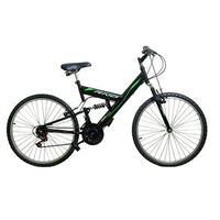 BICICLETA FULL SUSPENSION RINO 18V PRETO preto