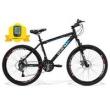 Bicicleta Gts Aro 26 Freio A Disco Câmbio Shimano 21 Marchas Amortecedor E Velocímetro Walk New preto