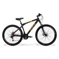 Bicicleta Gts Aro 29 Freio A Disco Câmbio Shimano 21 Marchas E Amortecedor Com Trava Dynamic preto