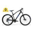 Bicicleta Gts Aro 29 Freio A Disco Hidráulico Câmbio 27 Marchas E Amortecedor + Velocímetro De I - Vtec Absolute azul marinho