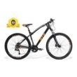 Bicicleta Gts Aro 29 Freio A Disco Hidráulico Câmbio 27 Marchas E Amortecedor + Velocímetro De I - Vtec Absolute laranja