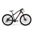 Bicicleta Gts Aro 29 Freio A Disco Hidráulico Câmbio Shimano Alivio 27 Marchas E Amortecedor Com Trava No Guidão I - Vtec laranj