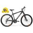 Bicicleta GTSM1 Expert 1.0 Aro 29 Freio a Disco 24 Marchas + Ciclo Computador + Squeeze e Suporte - Preto Fosco preto