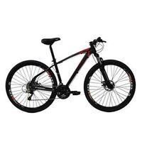 Bicicleta High One Revolution Aro 29Er Freio a Disco 24 Velocidades Cambios Shimano Preto Vermelho
