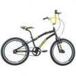 Bicicleta Houston Furion Aro 20 Em Alumínio, Preta