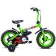 Bicicleta Infantil Aro 12 Rock Verden - Verde com Preto