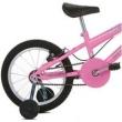 Bicicleta Infantil Aro 16 Sport Bike Thunder Branca e Rosa