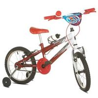 Bicicleta Infantil Aro 16 Sport Bike Thunder Vermelha e branca