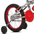 Bicicleta Infantil Aro 16 Sport Bike Top Cross Cromada Vermelha