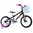 Bicicleta Infantil Aro 16 Track & Bikes Track Girl - Preta / Rosa