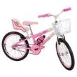 Bicicleta Infantil Aro 20 Sport Bike Alice Com Cadeirinha de Boneca