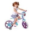 Bicicleta Infantil Frozen Bandeirante - Aro 14 - Roxa