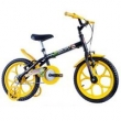 Bicicleta Infantil Masculina Dino Aro 16 Preto Fosco Track Bikes