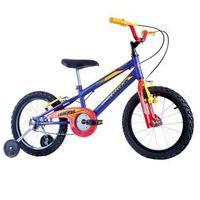 Bicicleta Infantil Masculina Track Boy Aro 16 Azul Fosco Track Bikes