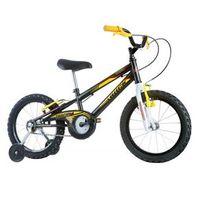 Bicicleta Infantil Masculina Track Boy Aro 16 Preto / Amarela Track Bikes
