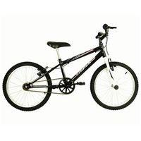 Bicicleta Infanto Juvenil Aro 20 Track & Bikes Cometa - Preta / Branca