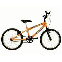Bicicleta Infanto Juvenil Aro 20 Track & Bikes Cometa Preta / Laranja