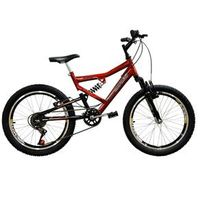 Bicicleta Mormaii Aro 20 Full FA240 - Vermelho