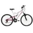 Bicicleta Mormaii Aro 24 Full FA240 - Branco / Rosa
