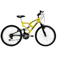 Bicicleta Mormaii Aro 24 Fullsion - Amarelo