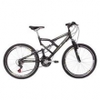 Bicicleta Mormaii Aro 26 Full Suspension Big Rider - Preta