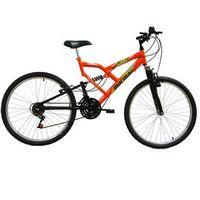 Bicicleta Mormaii Aro 26 Fullsion - Laranja Neon