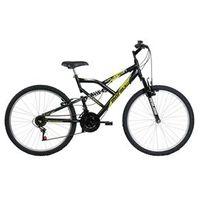Bicicleta Mormaii Aro 26 Fullsion - Preto Fosco