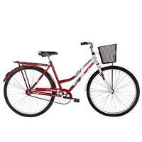 Bicicleta Mormaii Aro 26 Soberana CP - Vermelho / Branco