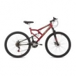 Bicicleta Mormaii Aro 29 Full Suspension Big Rider - Vermelho vermelho
