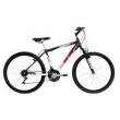 Bicicleta Mountain Bike Mormaii Aro 26 Alumínio B - Range com Suspensão - Preto / Vermelho