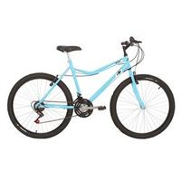 Bicicleta Mountain Bike Mormaii Aro 26 Jaws com suspensão - Azul Piscina