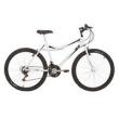 Bicicleta Mountain Bike Mormaii Aro 26 Jaws com suspensão - Branco