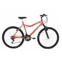Bicicleta Mountain bike Mormaii Aro 26 Jaws com Suspensão - Laranja Neon