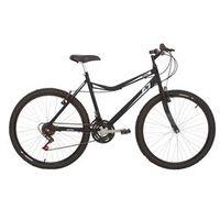 Bicicleta Mountain bike Mormaii Aro 26 Jaws com Suspensão - Preto Fosco
