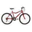 Bicicleta Mountain Bike Mormaii Aro 26 Jaws - Vermelho