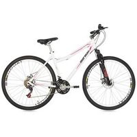 Bicicleta Mountain Bike Mormaii Aro 29 Fantasy Disk Brake com Suspensão - Branco