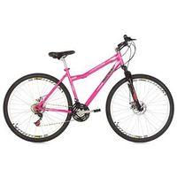 Bicicleta Mountain Bike Mormaii Aro 29 Fantasy Disk Brake com Suspensão - Rosa Barbie