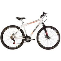 Bicicleta Mountain Bike Mormaii Aro 29 Jaws Disk Brake com Suspensão - Branco
