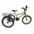 Bicicleta Triciclo aro 20 Bambu verde