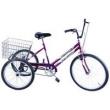 Bicicleta Triciclo Aro 26 cor Violeta roxo