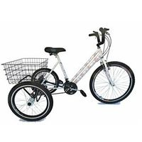 Bicicleta Triciclo aro 26 Floral 21 marchas