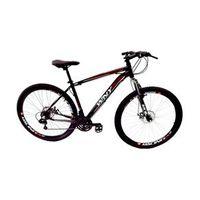 Bicicleta WNY cambios Shimano aro 29 freio a disco 24v - PRETA - Quadro 15 preto