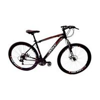 Bicicleta WNY cambios Shimano aro 29 freio a disco 24v - PRETA - Quadro 19 preto