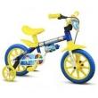 Bicicletinha Bicicleta Infantil Menino Aro12 Shark