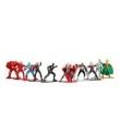 Bonecos de Metal Nano Marvel Vingadores Pack C / 10 - Jada Toys - Dtc