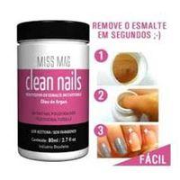 Clean Nails Removedor de Esmalte Instantâneo - 80 ml - Miss Mag