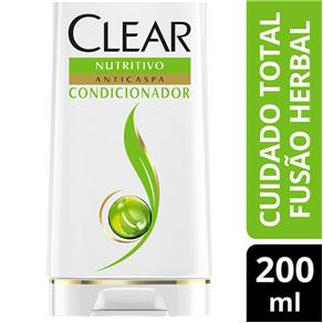 Condicionador Clear Anticaspa Fusão Herbal Cuidado Total