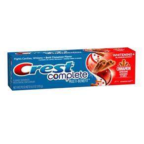 Creme Dental Crest Complete Cinnamon
