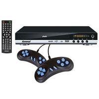 DVD Player Amvox AMD - 910 com Entrada USB Função Ripping 300 Jogos com Joystick
