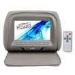 Encosto de cabeça monitor 7 ´ com capa e ziper - Cinza